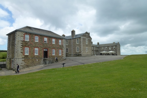 Royal Garrison Artillery barracks.