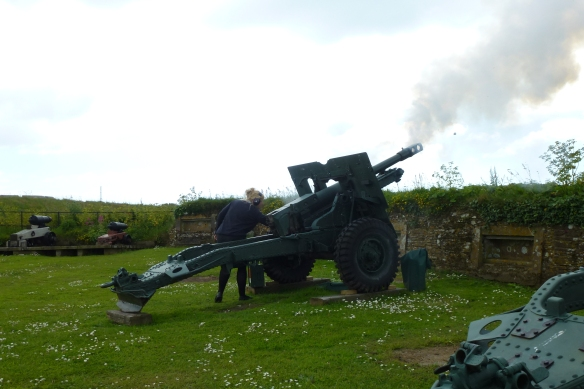 The Noon Gun Fires!