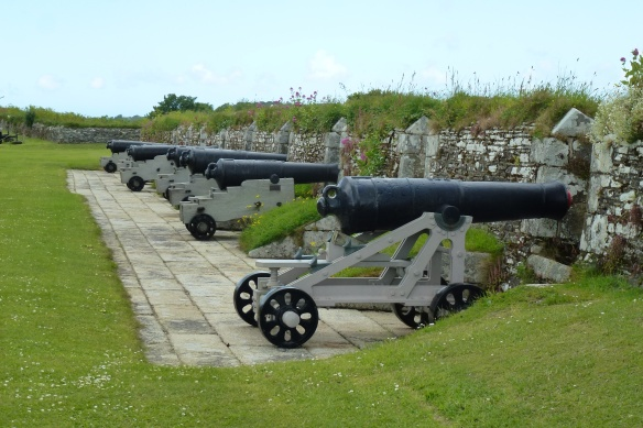 Nine-Gun Battery.