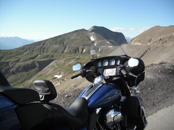 On Col de la Bonette, looking North, 2715m.