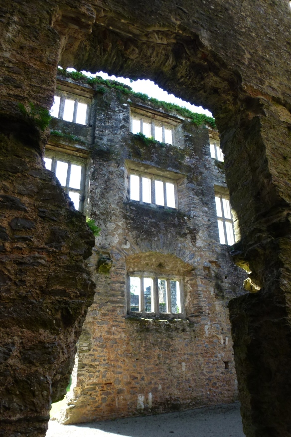 Inside the Elizabethan Ruins.