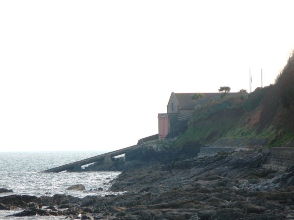 "Penlee Lifeboat Station,  home of the ""Solomon Browne."""