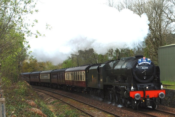46100 Royal Scot, April 2016