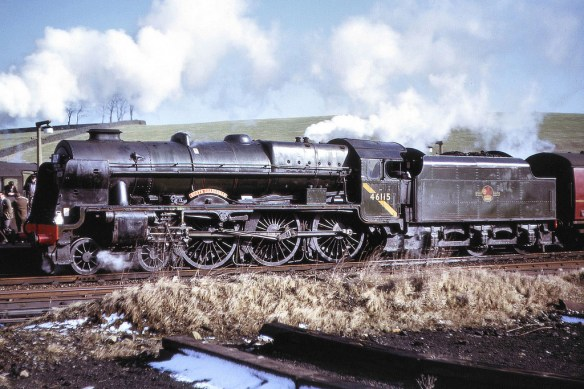 46115 Scots Guardsman February 1964