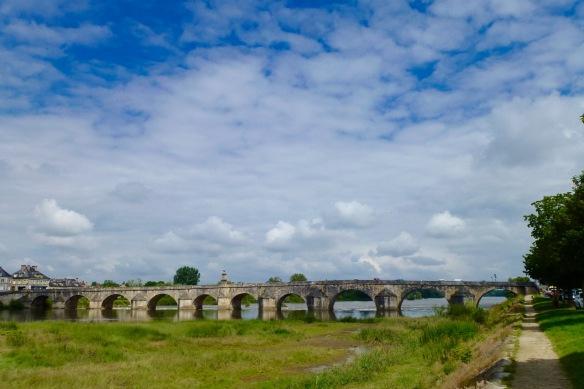 Loire bridge, La Charite sur Loire.