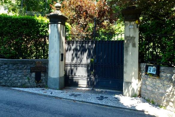Gateway to Villa Belmont