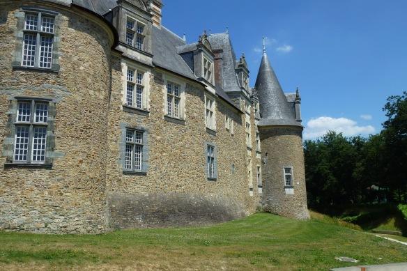 Le château, Châteaubriant.
