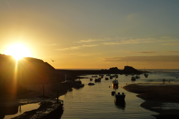 Sunset at Bude.