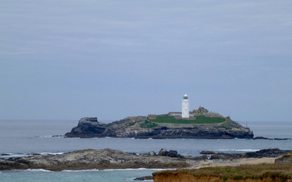 Godrevy Point Lighthouse.